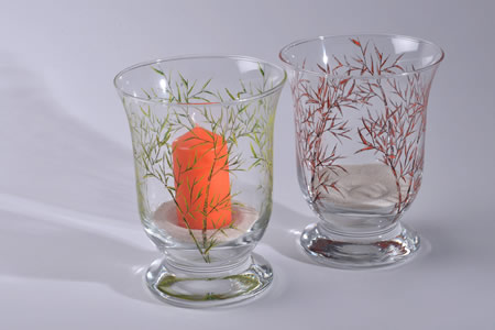 Verre collection Bambou